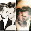 James Dean & Morrissey Kissing